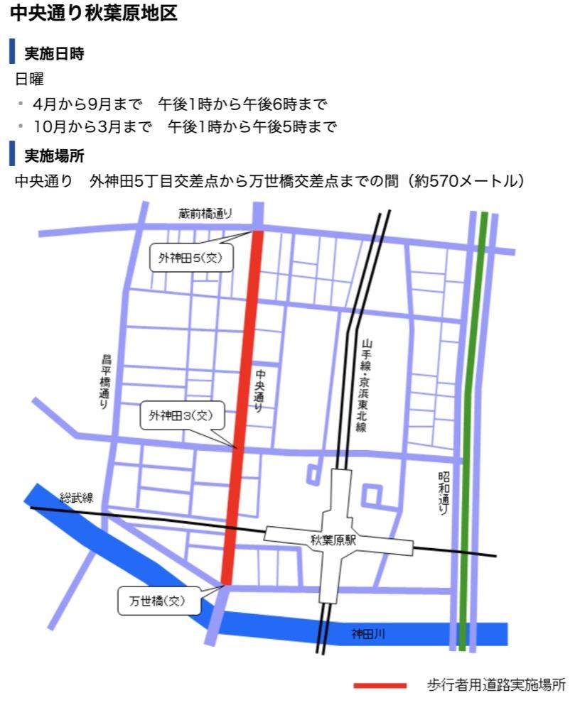 東京銀座步行者天國(假日限定,漫步在銀座中央通大街上)