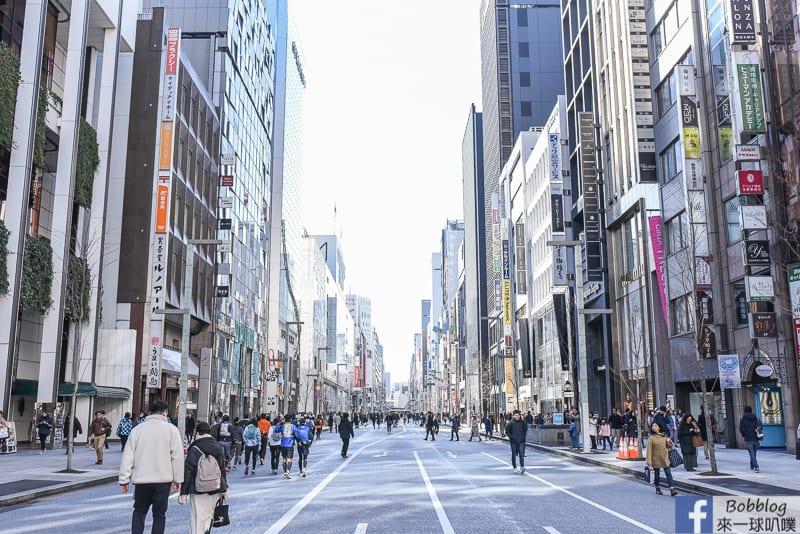 延伸閱讀:東京銀座步行者天國(假日限定,漫步在銀座中央通大街上)