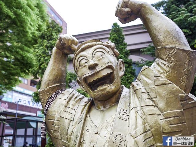 東京龜有烏龍派出所兩津勘吉攻略(烏龍派出所遊樂場,雕像地圖) @來一球叭噗日本自助攻略