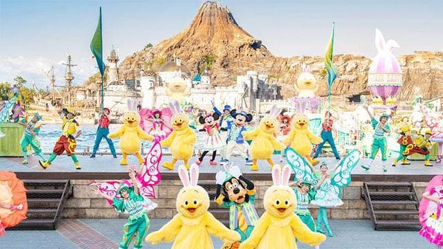 2019東京迪士尼,東京迪士尼海洋表演秀整理(時間表,位置) @來一球叭噗日本自助攻略