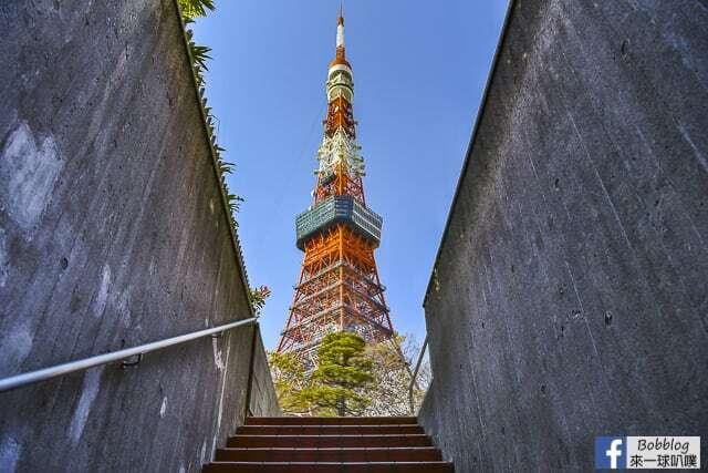 東京景點-白天東京鐵塔(360度展望市區美景) @來一球叭噗日本自助攻略