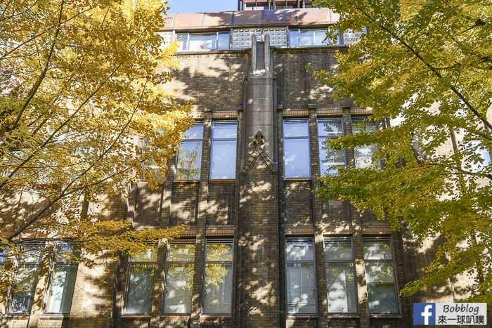 東京大學超美銀杏大道(銀杏位置交通),東京大學中央食堂午餐