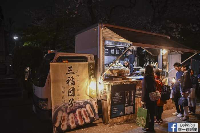 Ueno Park night sakura 5