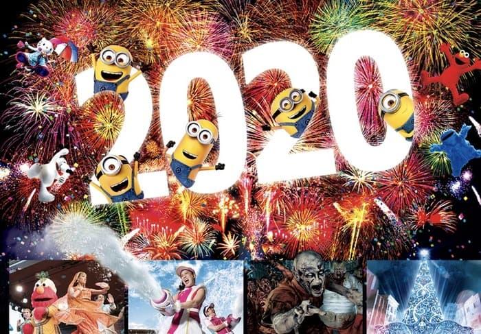20192020日本環球影城跨年,環球影城跨年派對入場券