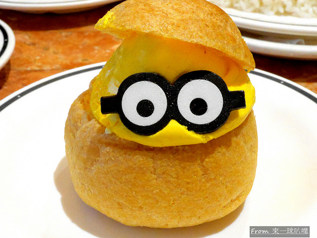 大阪環球影城小小兵餐廳-快樂咖啡廳(可愛小小兵餐點) @來一球叭噗日本自助攻略