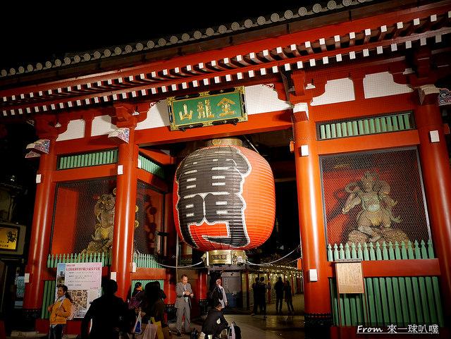 東京淺草寺雷門景點,淺草穿和服拍照,淺草寺美食 @來一球叭噗日本自助攻略