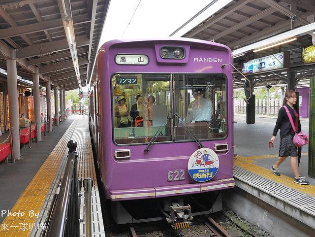 嵐山電車+足湯46