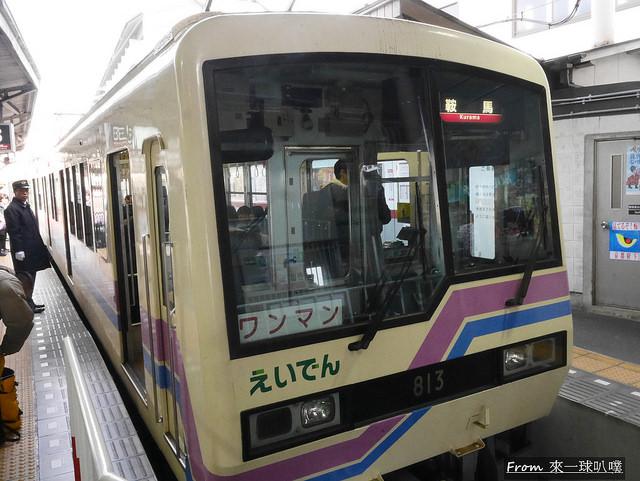 叡山電鐵楓葉隧道32