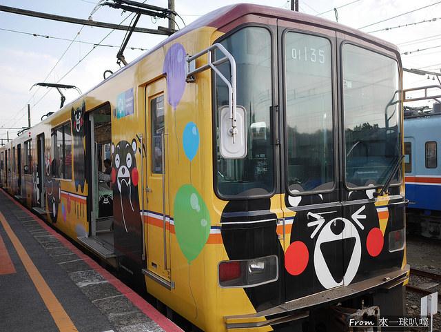 熊本電車-熊本熊電車24