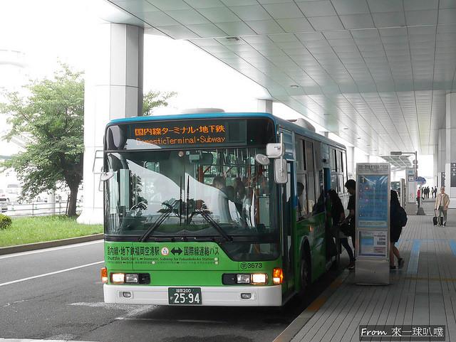 福岡機場出入境39