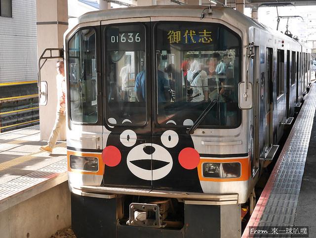 熊本電車-熊本熊電車09