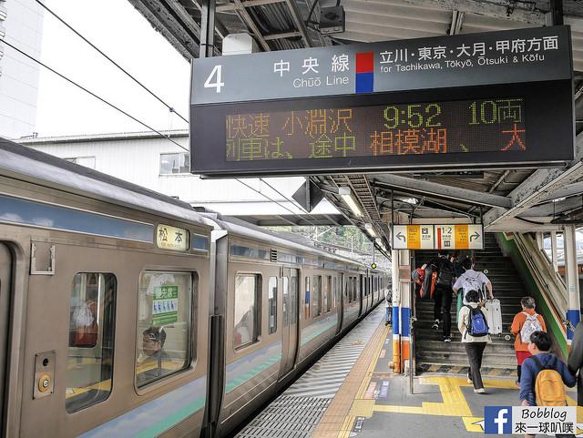 2019東京市區,新宿,澀谷,成田機場到河口湖鐵路巴士交通 @來一球叭噗日本自助攻略
